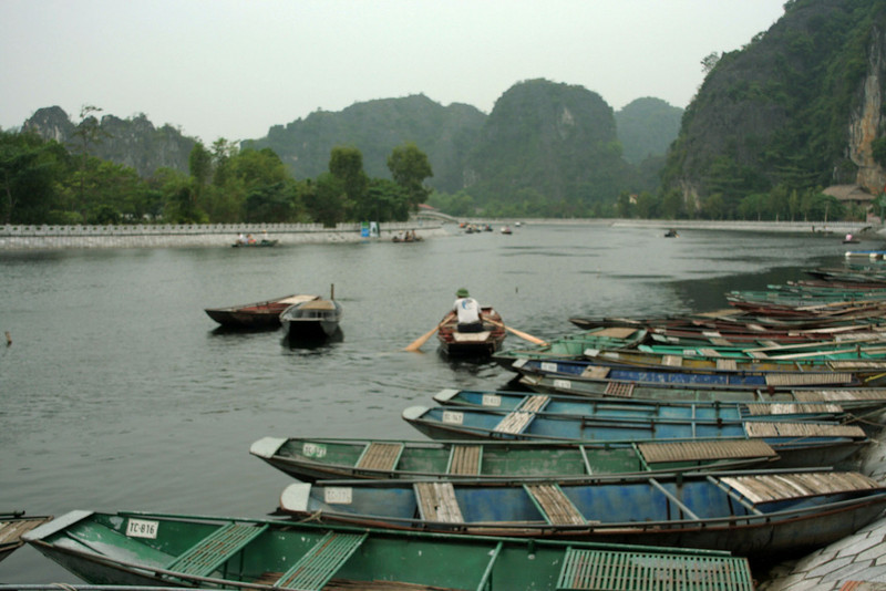 "Tam Coc (""three caves""), Vietnam"