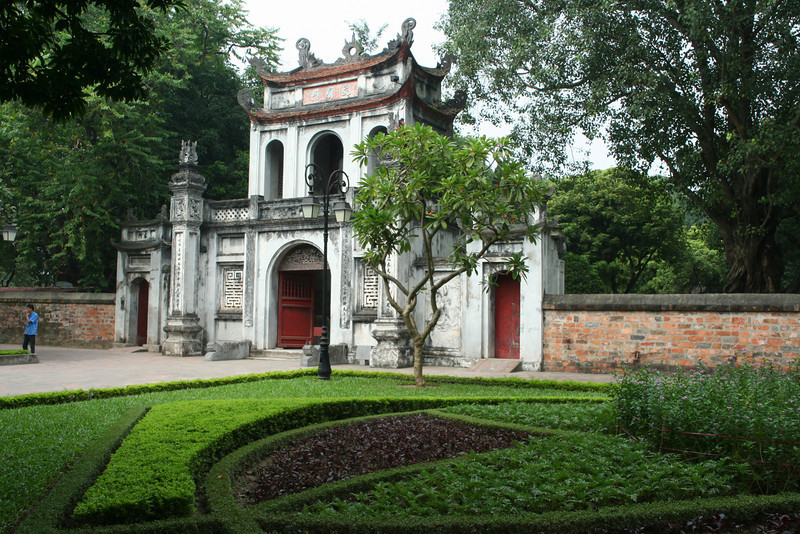 Temple of Literature.  Hanoi, Vietnam