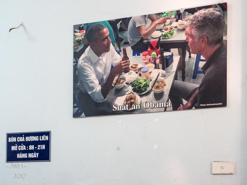 Obama ate here