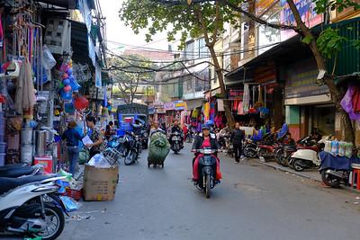 Streets Old hanoi