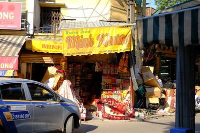 Hanoi Street Stall