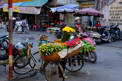 Flower Sales Old Hanoi
