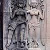 Smiling Apsaras (celestial maidens) at Angkor Wat