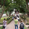 Temple of Literature, Second Courtyard; walking toward Khue Van pavilion