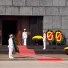Honor guard at Ho Chi Minh's Mausoleum