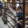 Hmong Weaving exhibit