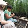 coconut palm leaf ring
