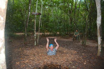 Brian Cu Chi Tunnels Trip Vietnam September 2015