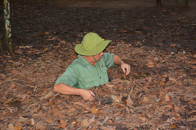 Cu Chi Tunnels Trip Vietnam September 2015