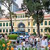 La poste de Ho Chi Minh Ville