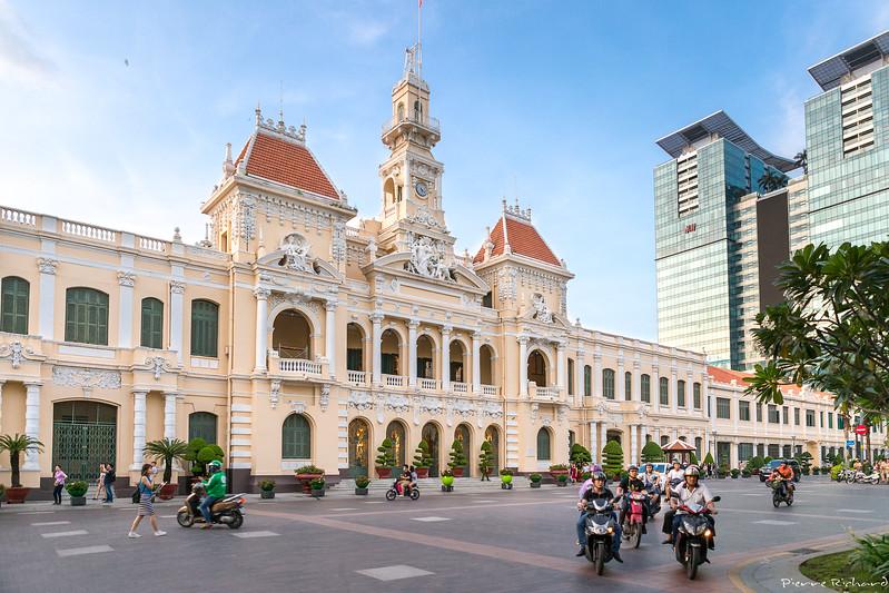 L'Hôtel de Ville d'Ho Chi Minh City
