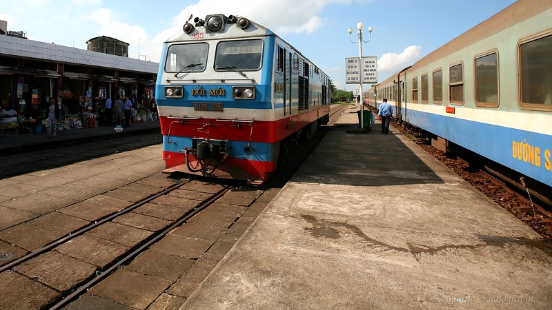 The best way to get to Hoi An is by train.