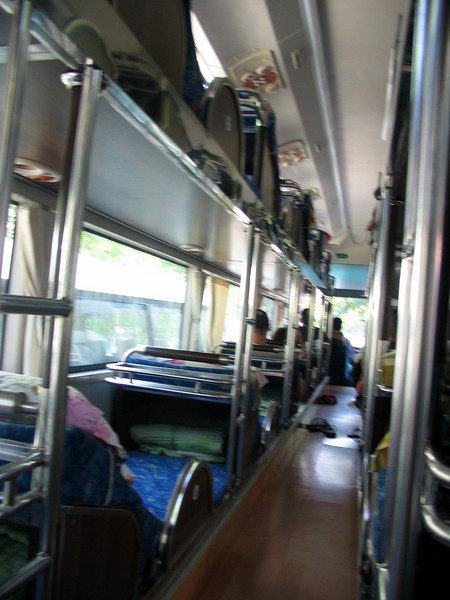 Taking a sleeper bus to Hoi An