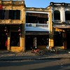 Typical buildings along the Hoi An streets.