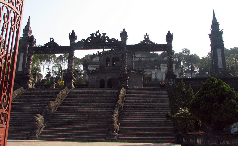 """The imperial tomb of Khai Dinh. Built in the 1920's. More Info: <a href=""""http://en.wikipedia.org/wiki/Khai_Dinh"""">http://en.wikipedia.org/wiki/Khai_Dinh</a>"""