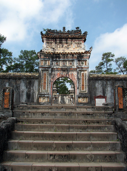 The entrance to Tu Duc's Tomb.