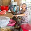 Fabrication de galettes de riz
