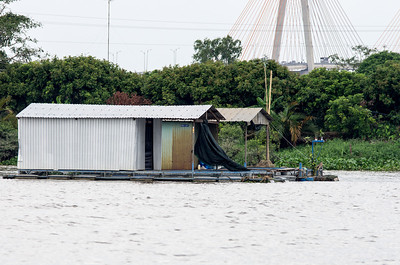 Rạch Mieu Bridge Bridge is a cable-stayed bridge in the Mekong River Delta, Vietnam. The bridge connects Tien Giang Province (My Tho) with Ben Tre Province, over the Mekong. The construction began on 30 April 2002 and achieved completion on 19 January 2008. Total length is 8331 m, including approach ramps, the main bridge is 2868 m.