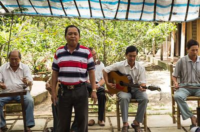 Concert on bee farm