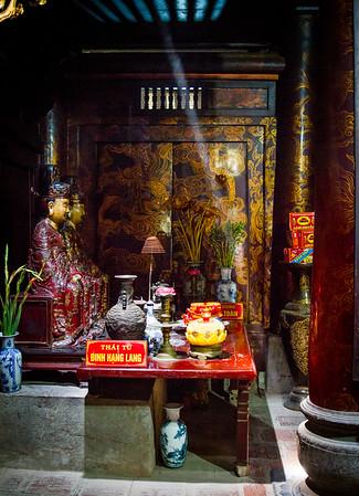 Temple of King Le Dai Hanh in Hoa Lu