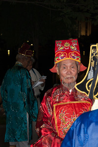 Budhist priest in Hanoi