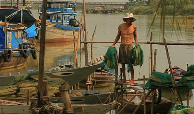 Visser. Hoi An, Vietnam.