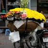 Flower Cart<br /> Hanoi, Vietnam