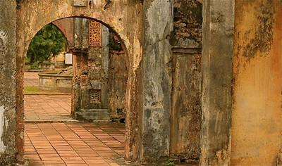 De Verboden Stad van Hué. Keizerlijke Citadel, Hué, Vietnam.