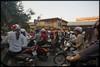 Motorbike carnage, Hanoi, Vietnam