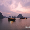 Sunset, Ha Long Bay, Vietnam