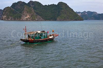 Boat in Ha Long Bay