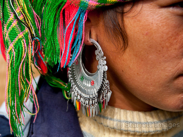 Earrings are all hand made