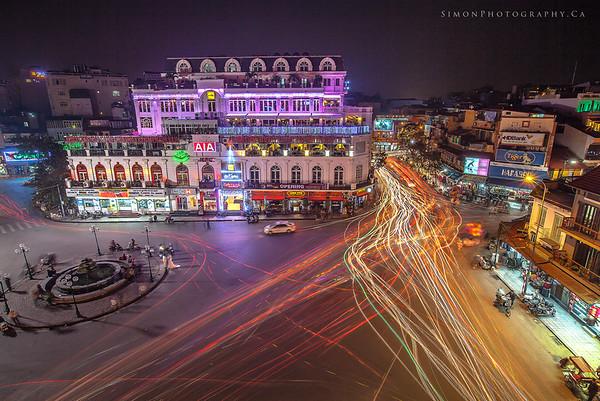 Hanoi City Traffic