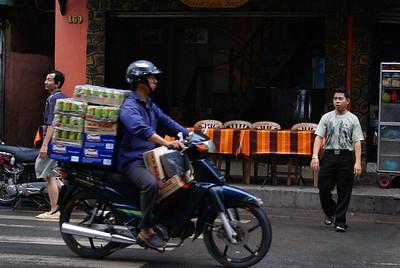 Soda distributor, Vietnam