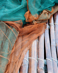 Basket detail with nets