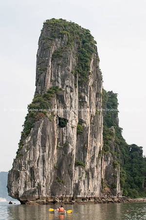 "Halong bay.  ""Descending dragon bay"" is a UNESCO World Heritage Site, Vietnam travel images and stock photos."