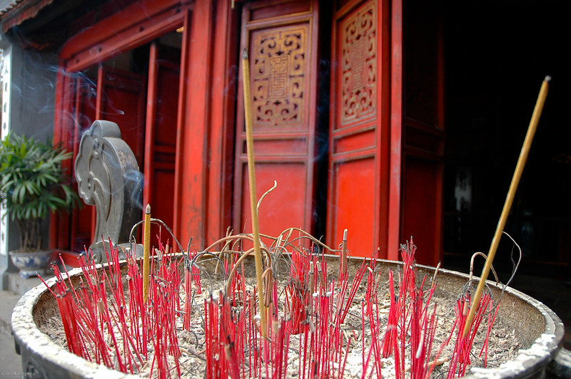 Incense<br /> Hanoi, Vietnam