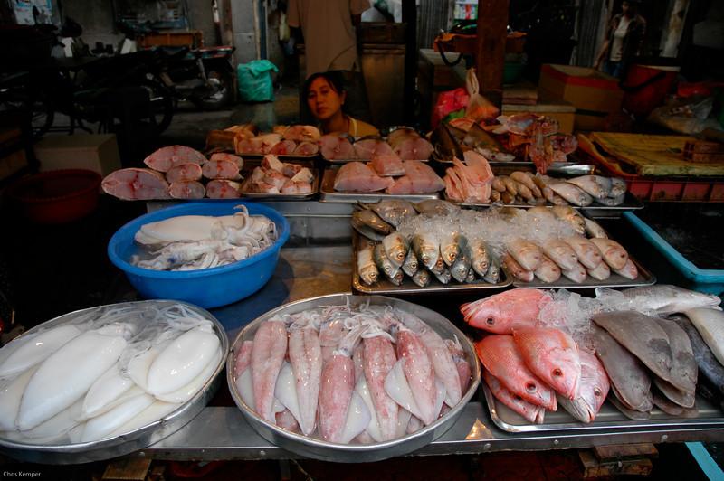 Fish Market,<br /> Ho Chi Minh City (Saigon)<br /> Vietnam