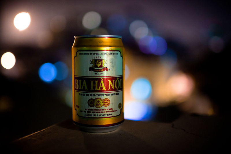 Goodbye Hoi An... Hello Hanoi.  Within minutes of arriving at my hotel I was tasting the local brew on the balcony of my room.