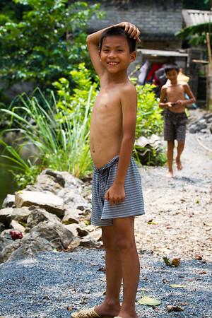 Young Boy Near Tam Co.