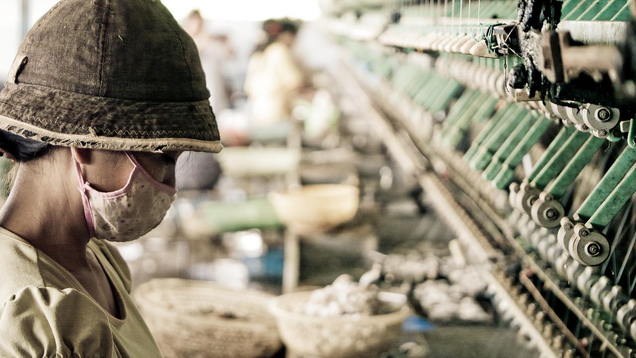 Silk production, Lam Dong