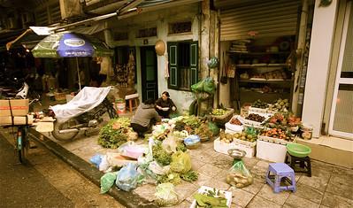 Old Quarter. Hanoi, Vietnam.