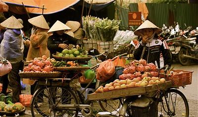 Dong Xuan Market. Hanoi, Vietnam.