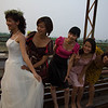Wedding Photos above the Red River