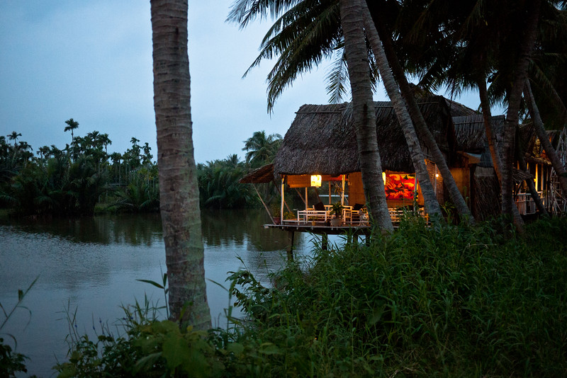 A restaurant on the outskirts of Hoi An where I stopped for dinner.