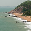 A small jetty north of Danang.