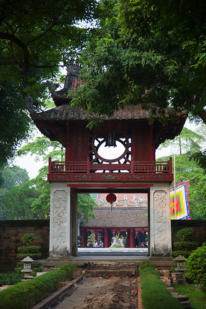 The Van Mieu gate