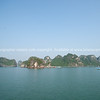 """Scenic Halong Bay.  """"Descending dragon bay"""" is a UNESCO World Heritage Site,"""