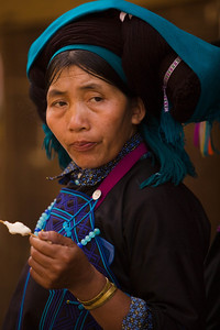 The Hilltribes Market of Muong Hum