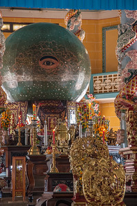 The Cao Dai temple at Tay Ninh